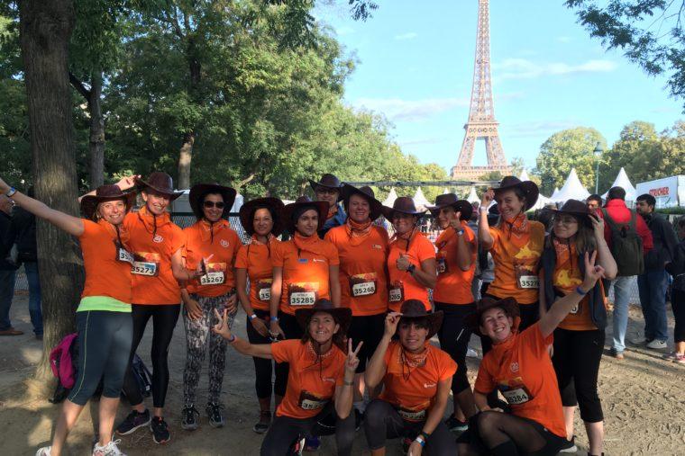 Participation à la Course de la Parisienne !
