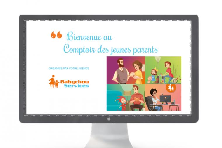 Le Comptoir des Jeunes Parents en visioconférence